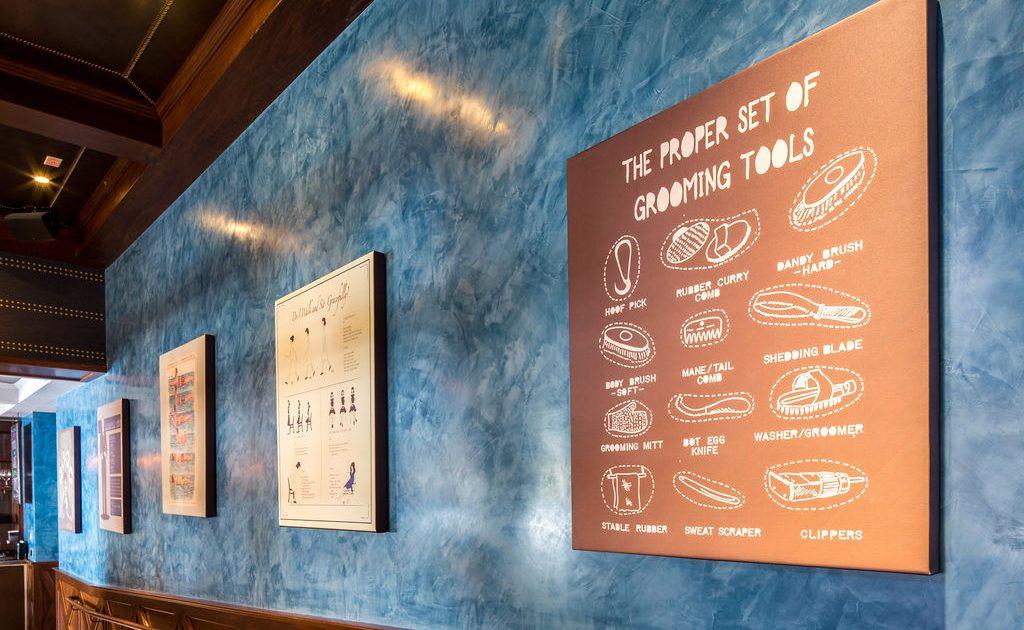 Proper Retaurant menu poster